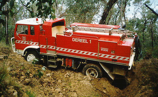 Dereel - Retired ACCO Fire Truck